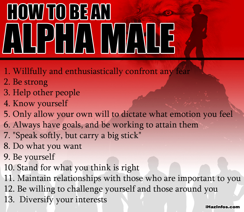 Alpha female and alpha male relationships