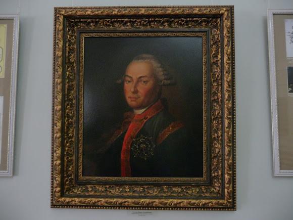 Батурин. Палац графа Розумовського. Портрет графа