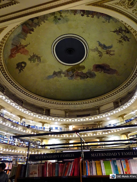 Livraria El Ateneo em Buenos Aires: como visitar