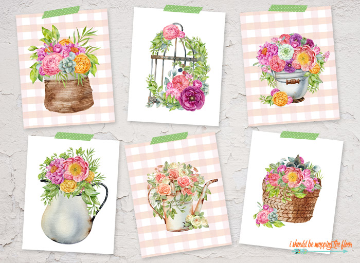 French Country Garden Printables