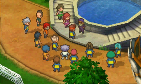 Inazuma Eleven screenshot 1