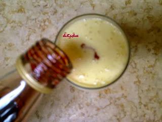 طريقة عمل عصير المنجا بالقشطة بالصور
