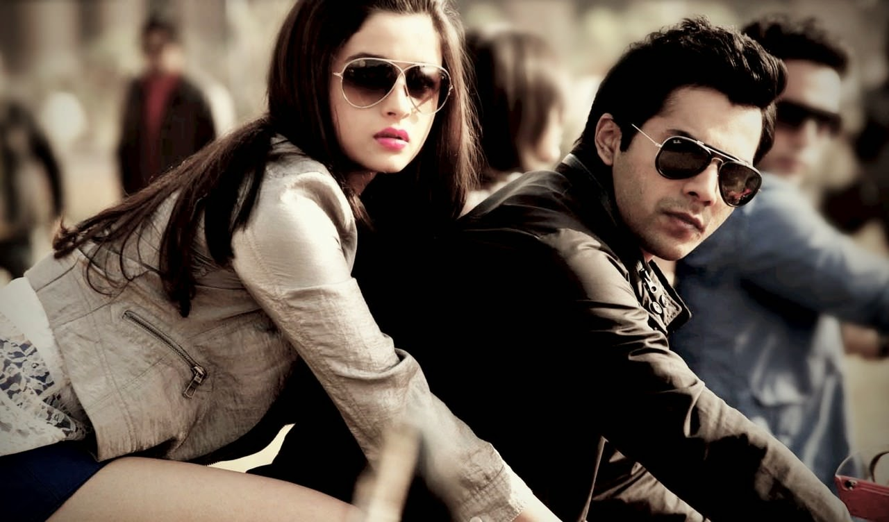 Varun Dhawan & Alia Bhatt On Bike Ride