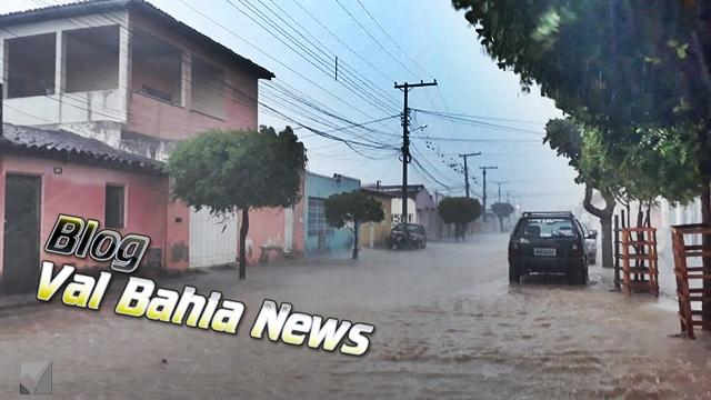 O período chuvoso foi registrado também em outras cidades da região.