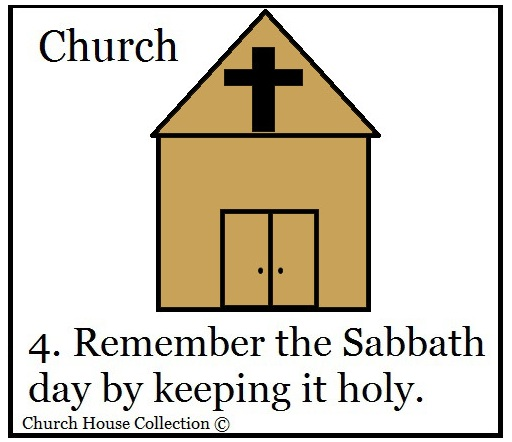 Remember The Sabbath Day Craft
