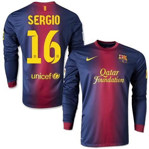 e70e28b0d82e3 uniforme del Barcelona manga larga