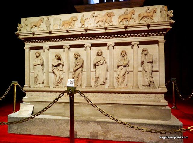 Sarcófago das mulheres que choram, Museu Arqueológico de Istambul