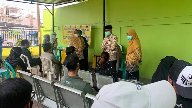 IBH Tinjau Pelaksanaan Rapid Tes Antigen di Puskesmas Kemiri Muka