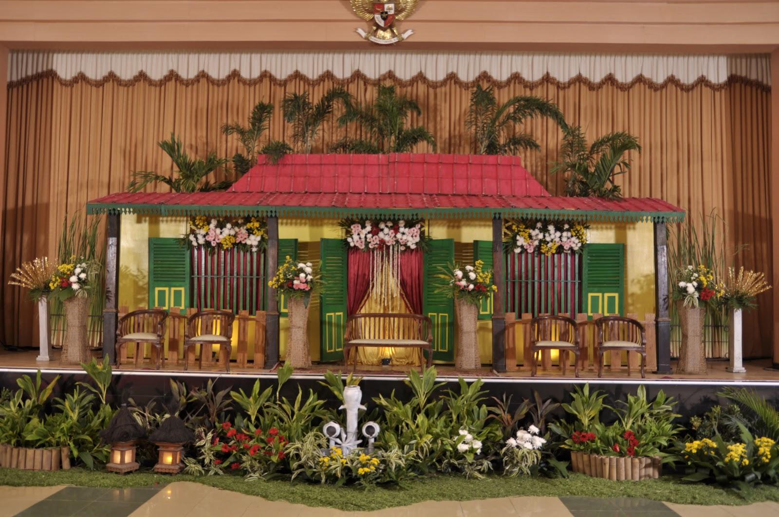Topaz Wedding Decoration Gallery Pelaminan Adat Betawi