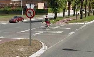 paso para ciclistas