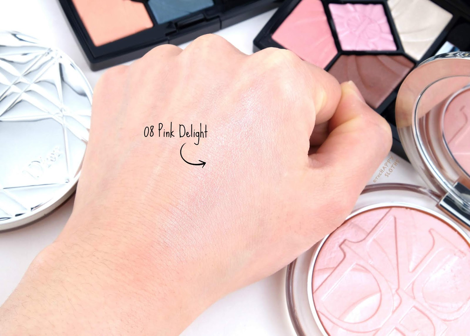 "Dior | Spring 2019 Collection | DiorSkin Nude Luminizer Lolli'Glow in ""08 Pink Delight"": Review and Swatches"
