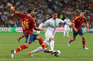 التعادل السلبي يحسم مواجهة إسبانيا والبرتغال