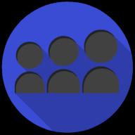 myspace colorful button