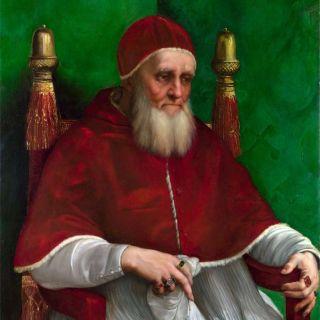 Портрет папы Юлия II мини