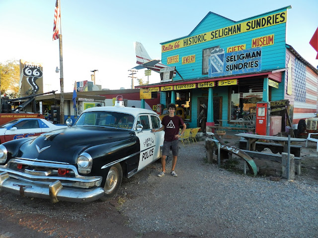 Historic Seligman Sundries route 66