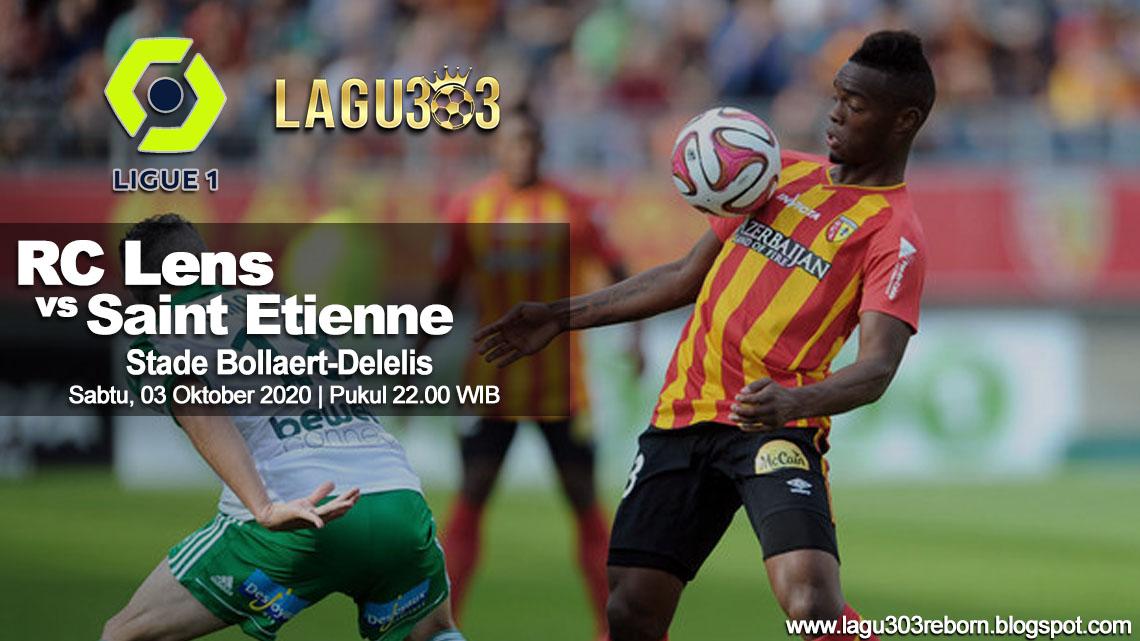 Prediksi RC Lens vs Saint Etienne 03 Oktober 2020 pukul 22.00 WIB