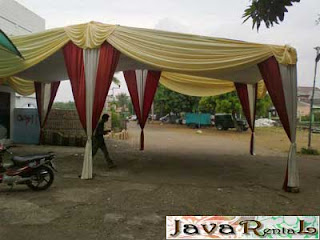 Sewa Tenda Semi Dekor - Rental Tenda Semi Dekor Acara