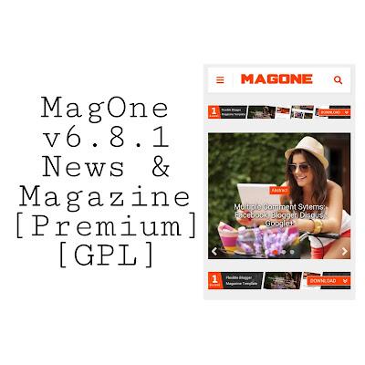 MagOne v6.8.1 News & Magazine ব্লগার টেমপ্লেট [Premium] [GPL]
