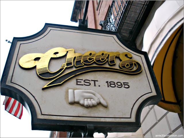 Cartel de Cheers Original en Boston