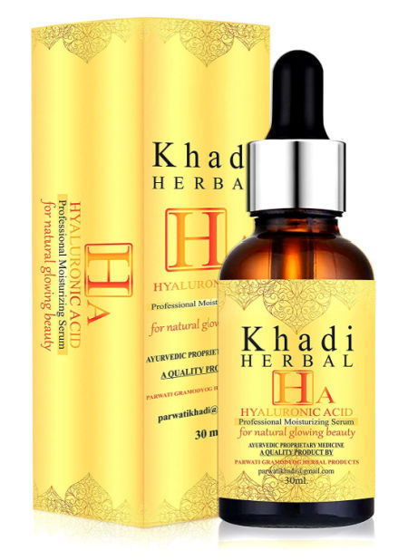 Khadi Herbal Hyaluronic Acid Face Serum For Natural Glowing