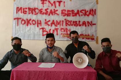 Front Mahasiswa Timur Indonesia: Bebaskan Ruslan Buton, Lawan Komunis!