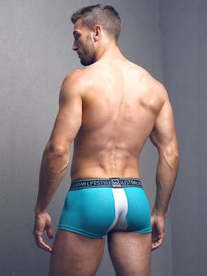 2Eros Pro Aktiv Trunk Underwear Platinum Back Gayrado Online Shop