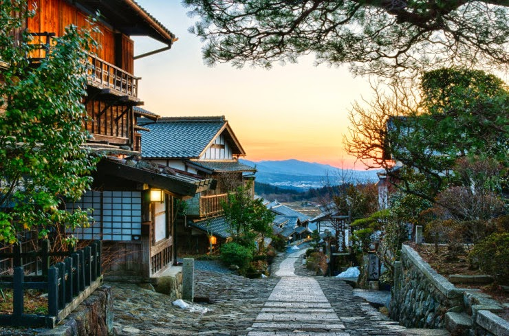 12. The Nakasendo Highway, Japan - 29 Wonderful Paths