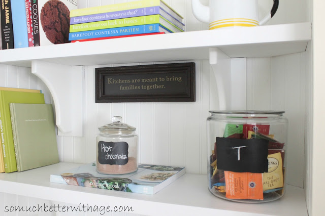 Closet Turned Butler Pantry www.somuchbetterwithage.com