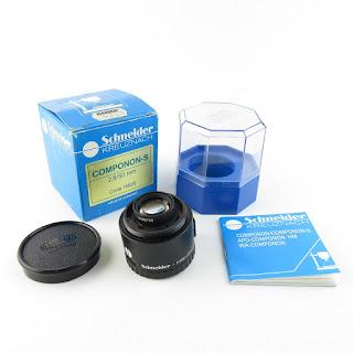 Schneider Kreuznach Componon-S 2.8/50 Vergrößerungsobjektiv / lens in OVP