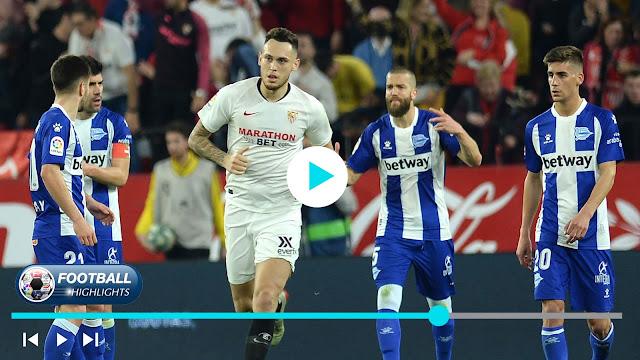 Sevilla vs Deportivo Alavés – Highlights