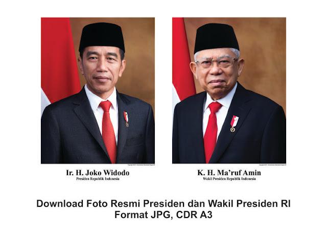 foto presiden dan wakil presiden, foto jokowi ma'ruf amin hd