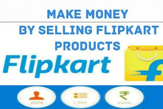How to Make money from flipkart by selling products