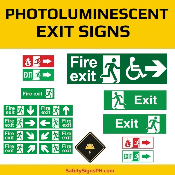 Photoluminescent Exit Signs Philippines