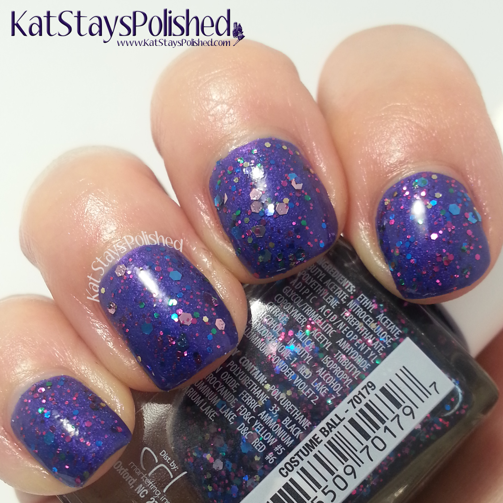 JulieG Mardi Gras Collection - Costume Ball | Kat Stays Polished