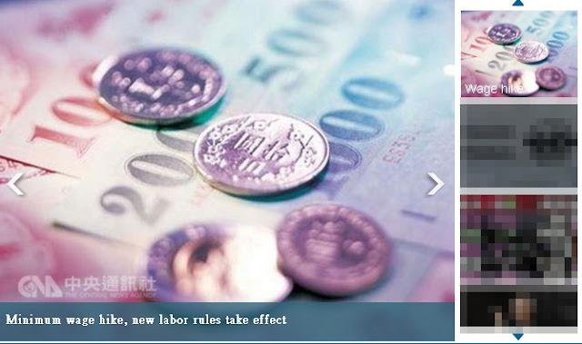 Peraturan Baru Pekerja di Taiwan Sudah Mulai Diberlakukan Mulai Awal Oktober 2016 Kemarin