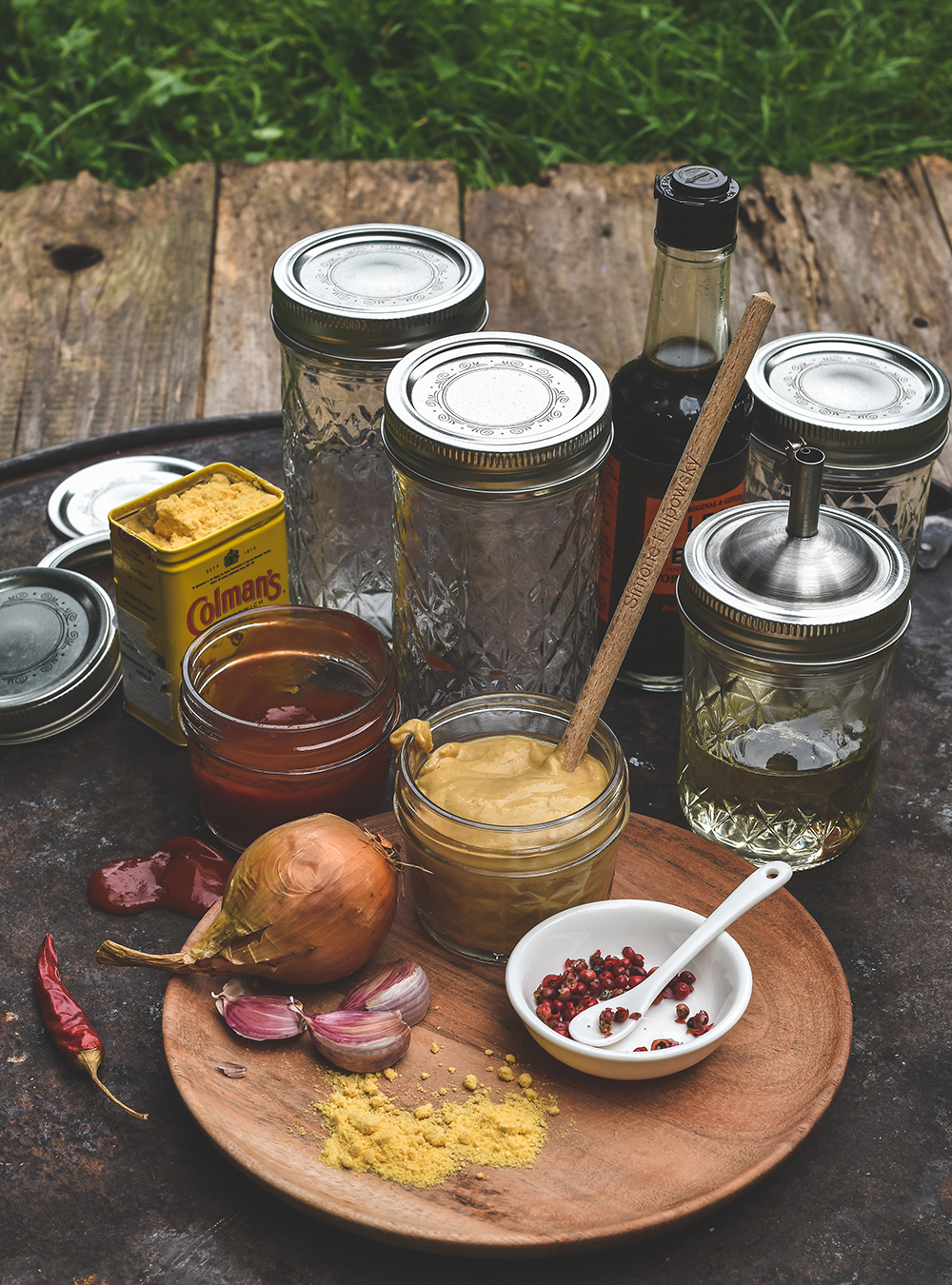South Carolina Mustard Barbecue Sauce - Rezept mit und ohne Thermomix