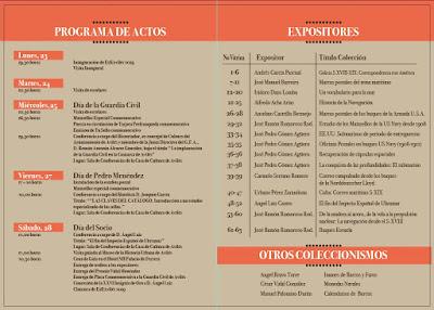 Programa de actos y expositores de EXFIAVILES 2019