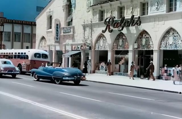 Ralphs on Wilshire in 1951 randommusings.filminspector.com