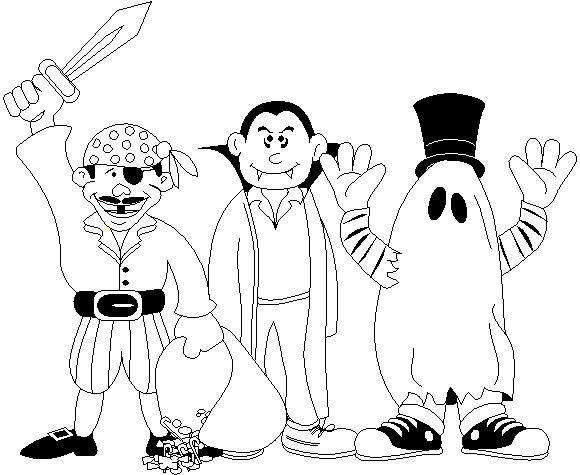 Costume Coloring Pages - Eskayalitim