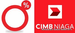 0% Installment CIMB Niaga