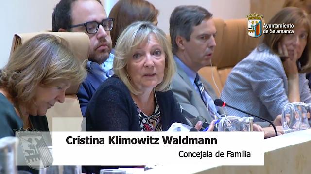 Cristina Klimowitz Waldmann y su problema para no escuchar la realidad de los desahucios