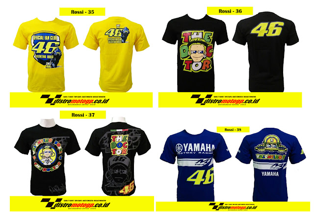 Kaos Valentino Rossi Limited