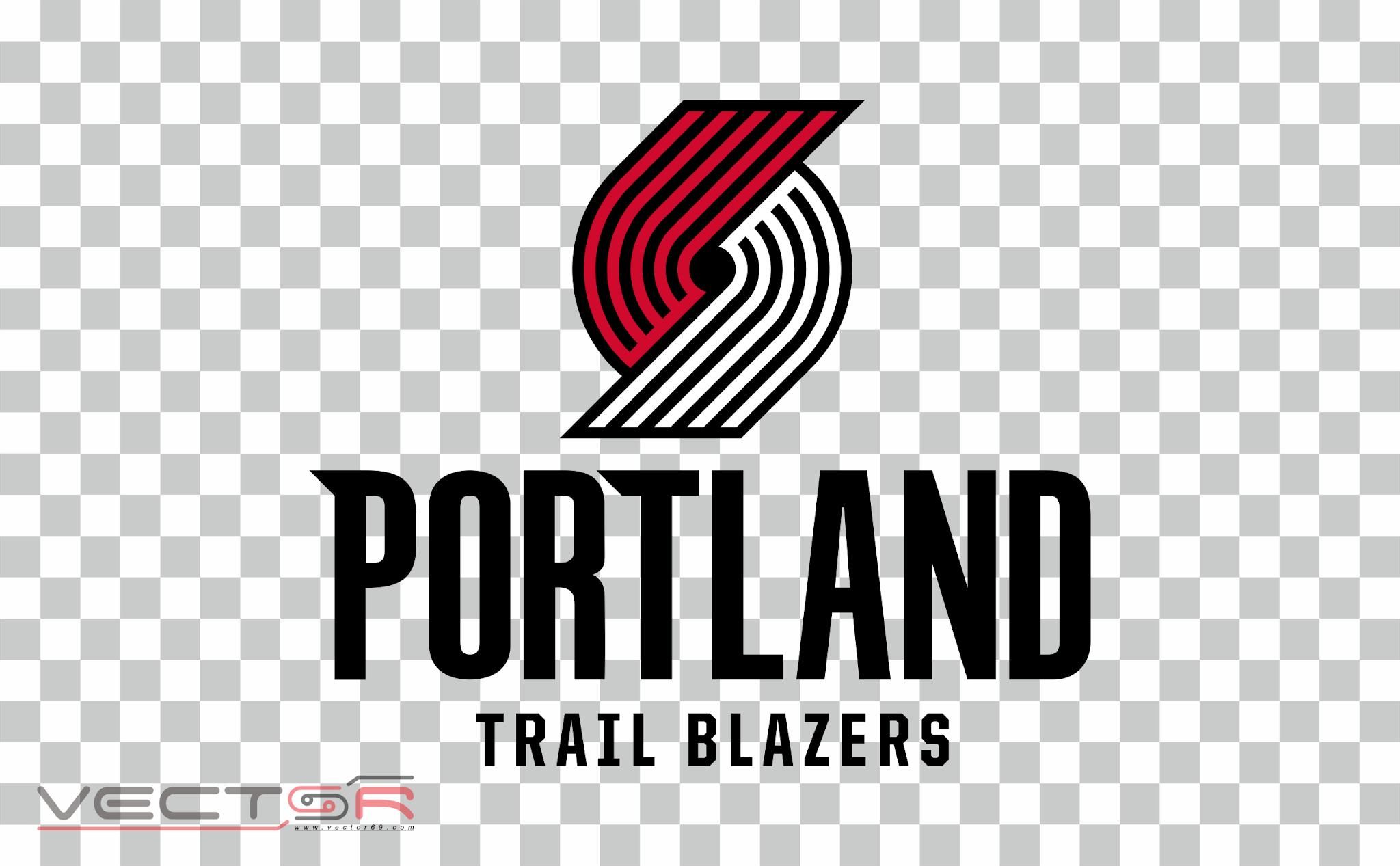 Portland Trail Blazers Logo - Download .PNG (Portable Network Graphics) Transparent Images