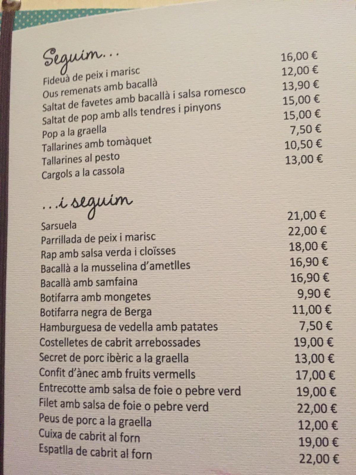 Gula gastron mica la campana barcelona for Restaurante la campana barcelona