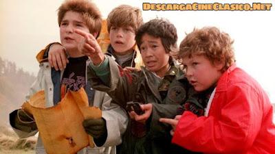 """Secuencia de la película """"Los Goonies"""""""