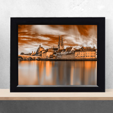 Architectural Panorama Themed Framed Print Wall Frame in Portharcourt Nigeria