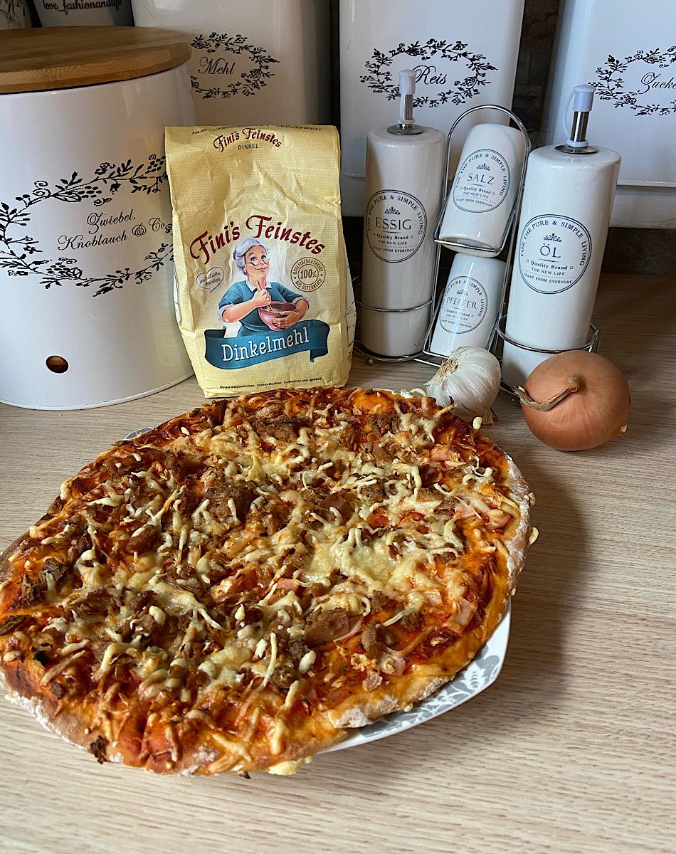 gesunde Rezepte, Pizza selbst gemacht