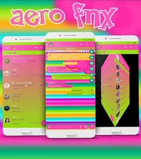 Neon Colors Theme For YOWhatsApp & Fouad WhatsApp By Ave fénix