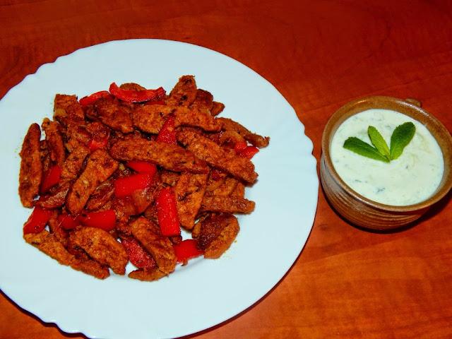 Gyros (kebab) a tzatziki - veganský recept