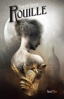 La couverture du roman Rouille (Scrineo) de Floriane Soulas est illustrée par Aurélien Police